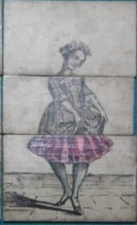 Eighteen Mid-19th Century Metamorphic Ladies' Costume Blocks