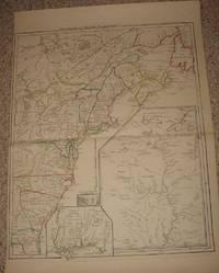 image of (Map, Revolutionary War Era, Colonial America): Theatre de la Guerre en Amerique