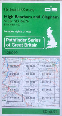 Pathfinder sheet 650 (High Bentham & Clapham) by Ordnance Survey - Paperback - Sheet SD66/76 (scale 1:25,000) - 1984 - from Acanthophyllum Books and Biblio.com