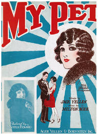 image of 1920s MUSIC: That Melody of Love, I've Grown So Lonesome Thinking of You, My Pet, Marie