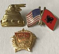 [Three Albanian pins]