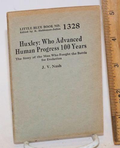 Girard, KS: Haldeman-Julius, 1929. 64p., 3.5x5 inches, wraps mildly edgeworn. Little Blue Book No. 1...