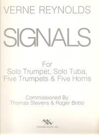 Signals for Solo Trumpet, Solo Tuba, 5 Trumpets & 5 Horns