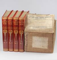 The Great War (Home Library issue, 4 volumes complete) in the publisher's original shipping box and previously unconfirmed publisher's dust jackets by Winston S. Churchill - First Illustrated edition - 1935 - from Churchill Book Collector and Biblio.com