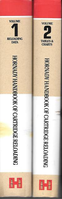 image of Hornady Handbook Of Cartridge Reloading 2 Volume Set; Reloading Data;  Tables & Charts