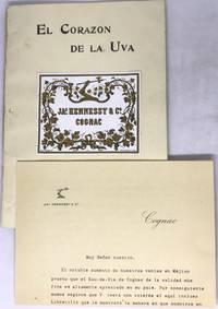 [COGNAC] [MEXICO] El Corazon De la Uva (The Heart of the Grape) JA.s HENNESSY & Co. Cognac