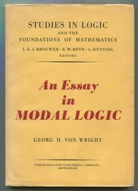 An Essay in Modal Logic