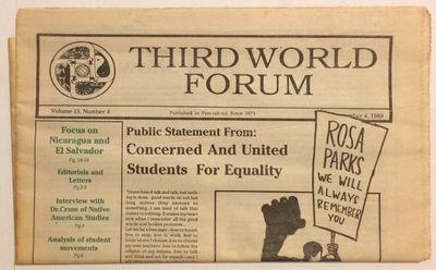 Poo-tah-toi (Davis, CA): the newspaper, 1989. 32p., tabloid format newspaper, horizontal fold. On et...