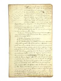 EARLY 19TH CENTURY DEPOSITIONS OF FREE BLACK MEN IN NEW YORK