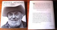 ANSEL ADAMS.  An Autobiography