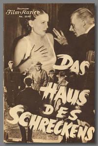 [ILLUSTRIERTEN FILM-KURIER for:] DAS HAUS DES SCHRECKENS [THE OLD DARK HOUSE]