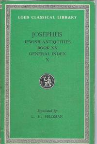 Josephus X__Jewish Antiquities, Book XX, General Index