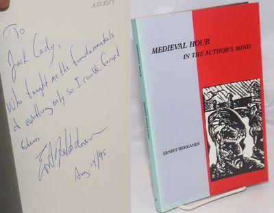 Saskatoon: Thistledown Press, 1987. Paperback. 140p., preface, woodcut illustrations by the author, ...