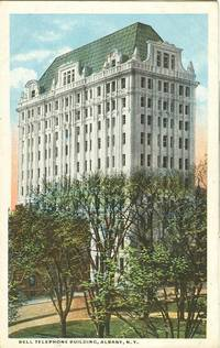 Bell Telephone Building, Albany New York early 1900s unused Postcard