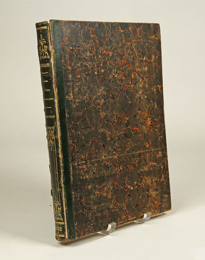 Paris: S. Richault , 1860. Folio. Green leather-backed marbled boards, titling and decorative device...