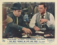 The Best Things in Life Are Free (Collection of 5 British front-of-house cards from the 1956 film)