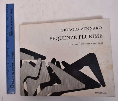 Milan: Aldo Martello Editore, 1974. Paperback. G+ moderate wear and soiling to wraps.. White and BW-...