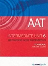 image of AAT NVQ: Unit 6 (Aat Textbooks)