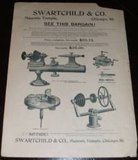 image of Original 1893 Illustrated Advertisement for Swartchild Co. Masonic Temple  Chicago ILL