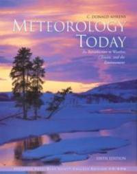image of Meteorology Today (Non InfoTrac Version): An Introduction to Weather, Climate, and the Environment