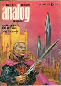 """ANALOG Science Fiction/ Science Fact: December, Dec. 1971 (""""A Spaceship for the King"""")"""