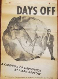 Days Off - A Calendar of Happenings