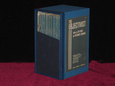 New York: The Objectivist. First Edition. Original Wraps. January, 1966 - September, 1971. A complet...
