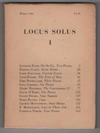 Locus Solus I (Locus Solus 1; Winter 1961)