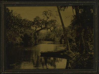 Daytona Beach, Florida: R. H. LeSesne, 1920. LeSesne, R. H.. 13 3/8 x 10 1/2 inches Haberle-tone (Or...