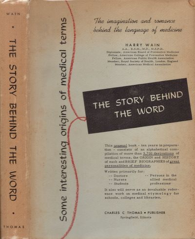 Springfield, Illinois: Charles C. Thomas, Publisher, 1958. Hardcover. Good/good. Quarto. Hardcover w...