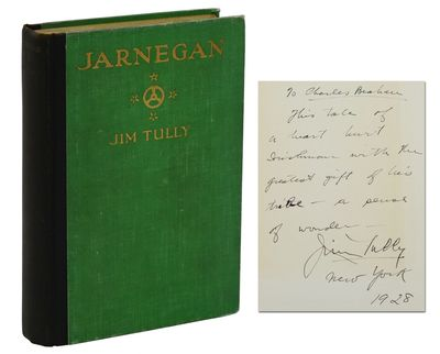 New York: Albert & Charles Boni, 1927. Very Good. Inscribed by Tully on front free endpaper,
