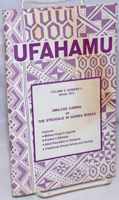 Los Angeles: African Activist Association UCLA, 1972. 124p., staplebound journal, front cover uneven...