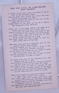 image of The Sad Saga of Corn-holed Dan McGrew [joke card]