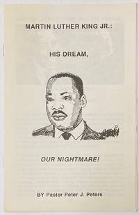 image of Martin Luther King Jr.: his dream, our nightmare!