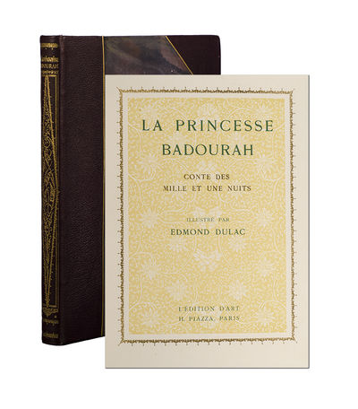 Paris: L'Édition D'Art H. Piazza, 1914. First edition in French. Fine. Limited to 500 numbered copi...