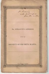 image of AN ORATION PRONOUNCED BEFORE THE PHI BETA KAPPA SOCIETY OF HARVARD UNIVERSITY, JULY 17, 1851.