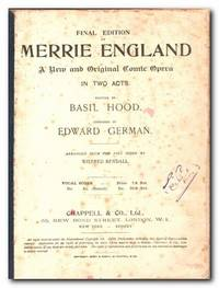 Merrie England A New and Original Comic Opera in Two Acts