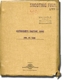 Alexander's Ragtime Band (Original screenplay for the 1938 film)