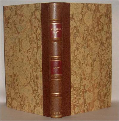 London: John Murray, 1825. sep 22 2017. xvi, 198, (2) pp. b/w folding map, engraved plates. Lyon, a ...