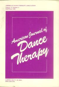 image of American Journal of Dance Therapy (Volume 13, Number 2: Fall/Winter 1991)