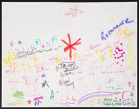 Fanfare of Hope and Solidarity for Orchestra. Autograph map of form