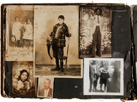 [PHOTOGRAPH AND EPHEMERA ALBUM BELONGING TO THE JACKSON FAMILY OF CANTON, MISSISSIPPI]