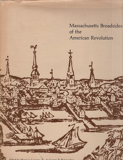 Amherst: University of Massachusetts Press, 1976. Hardcover. Very good/fair. Folio. xii, 129 pages. ...