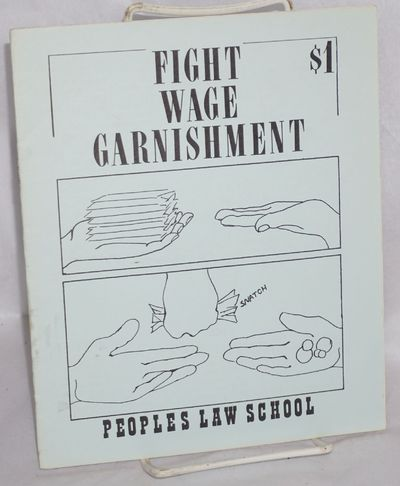 San Francisco: Peoples Law School, 1979. 12p., staplebound pamphlet, very good. Stated third edition...