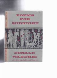 ARKHAM HOUSE: Poems for Midnight -by Donald Wandrei -SIGNED ( Poetry )