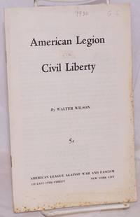 image of American legion vs. civil liberty