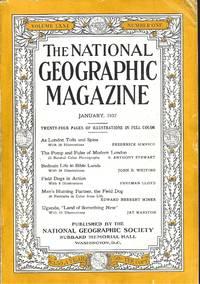 The National Geographic Magazine  January, 1937 Volume LXXI