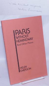 image of Paris Without Hemingway and Other Places