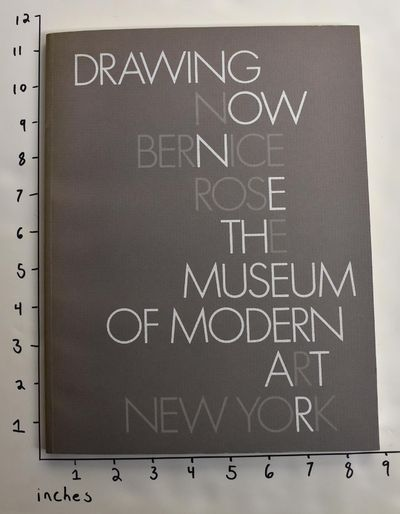 The Museum of Modern Art, 1976. Softbound. VG+, exlib with sticker to cover and bookplate and / or m...