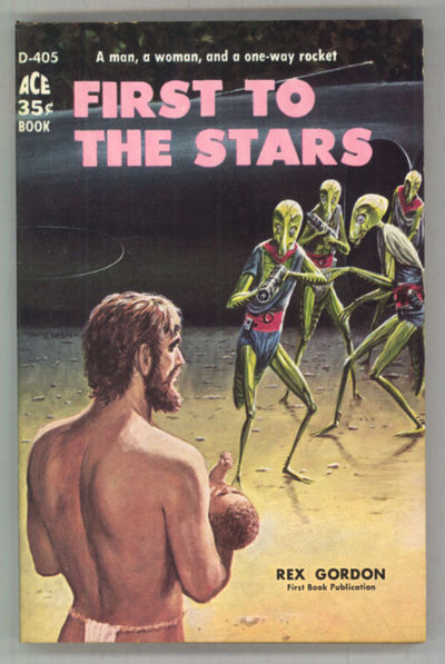 New York: Ace Books, 1959. Small octavo, pictorial wrappers. First edition. Ace Books D405. Interpla...